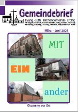 Gemeindebrief März bis Juni 2021